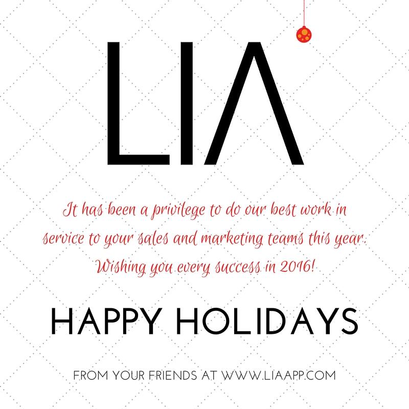 Happy Holidays LIA